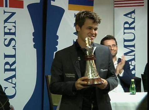 Carlsen, vincitore nel 2013
