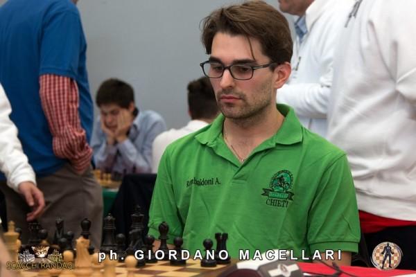 Axel Rombaldoni, seconda scacchiera del Chieti