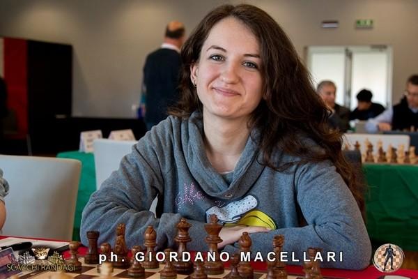 Daniela Movileanu, leader di Frascati Scacchi Femminile