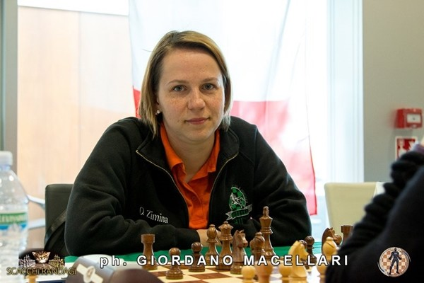 Olga Zimina, del Fischer Chieti Femminile