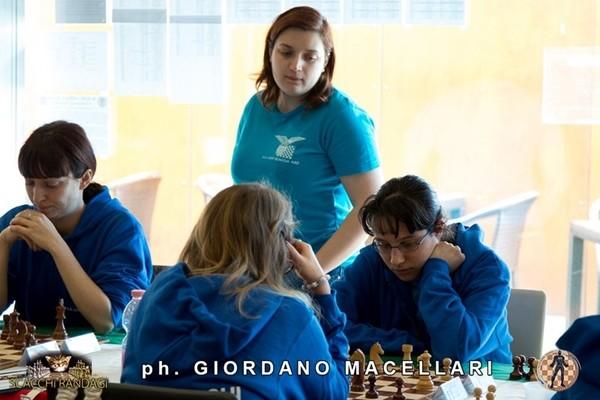 Paethzm Marina Brunello e Roberta Messina, del Lazio Scacchi Femminile