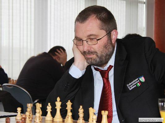 Michele Godena, prima scacchiera dell'Italia