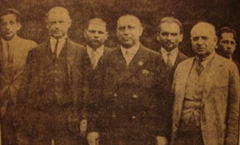 1930_polonia con Tartakower e Rubinstein
