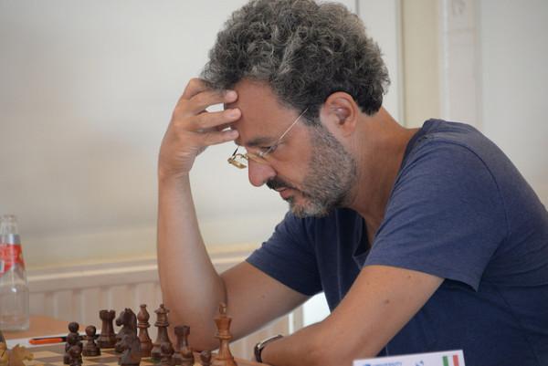 Alberto David, numero uno del tabellone