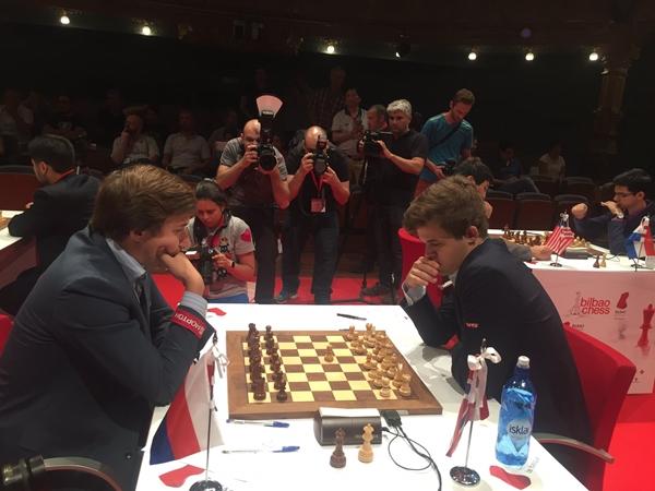 Carlsen batte Karjakin nel Bilabo Master 2016