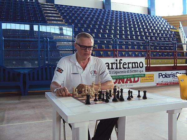 Fabio Bruno, recentemente ha vinto il Torneo di Porto San Giorgio e il Campionato Italiano Seniores