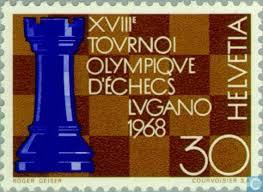 Lugano 1968 stamp
