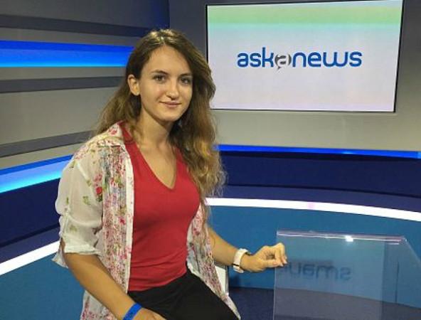 la Campionessa Italiana Daniela Movileanu intervistata da Askanews