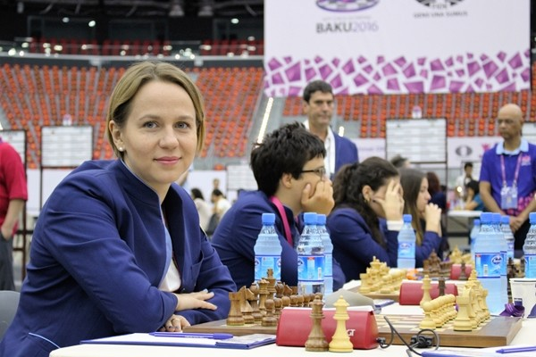 Olga Zimina, Leader delle azzurre