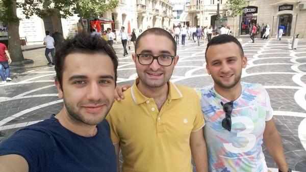 l'inviato speciale con Mustafa Yılmaz e Bahruz Rzayev