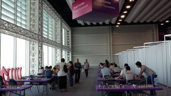 sala di gioco libero approntata per i turisti