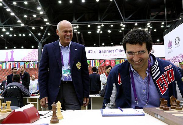 Filatov e Kramnik_oly2016_photo Eteri Kublashvili