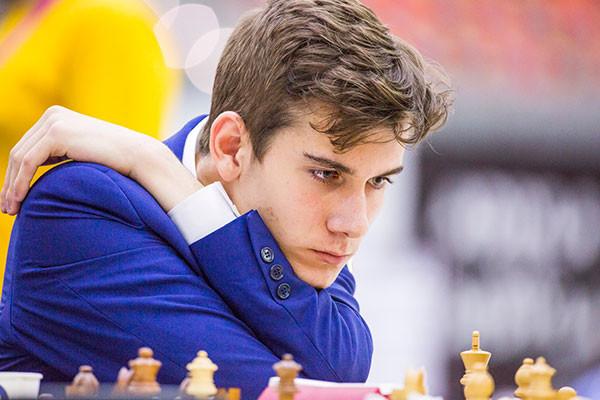 Luca Moroni, Numero uno del tabellone di partenza