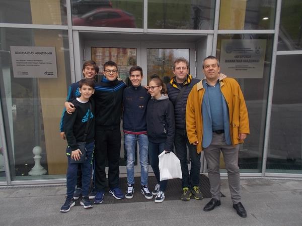 Ingresso Scacchi club Khanty-Mansiysk