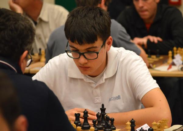 il più giovane partecipante al CIA 2016, Lorenzo Lodici, Classe 2000