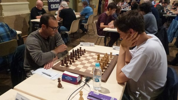 Piscopo patta con il GM Donchenko nel settimo turno
