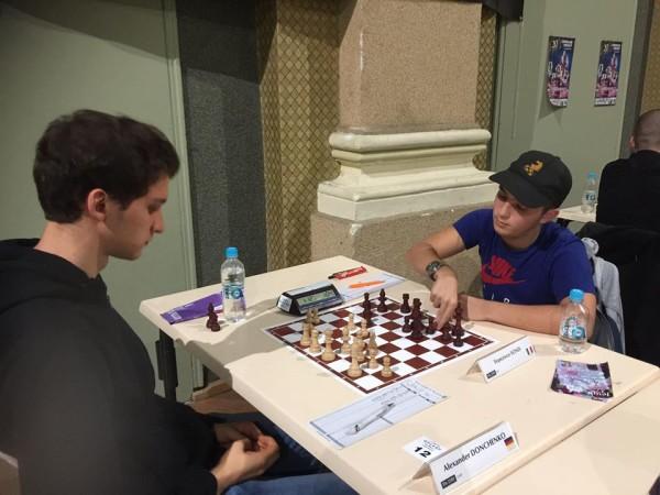 Sonis patta con il GM Donchenko nell'ottavo turno