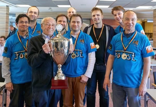 I Campioni in carica del Solingen. Foto Guido Giotta, dal sito ufficiale