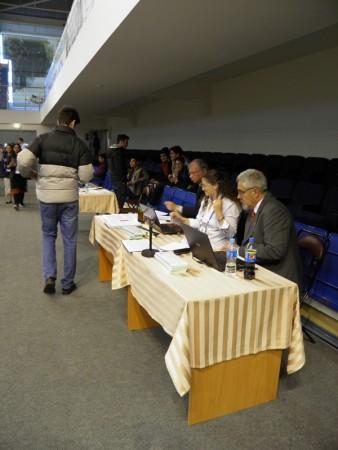 Tavolo principale arbitri