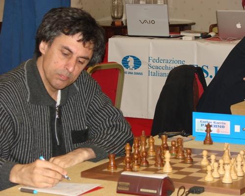 il GM italiano Carlos Garcia Palermo