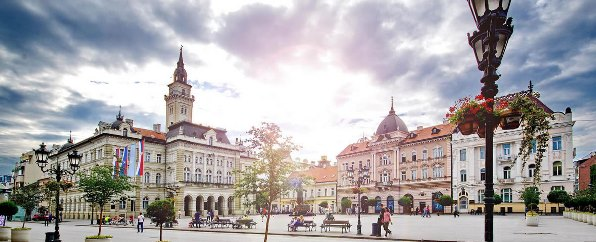 uno scorcio di Novi Sad