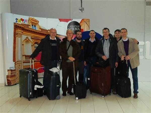 lo Steinitz Roma in partenza per Novi Sad