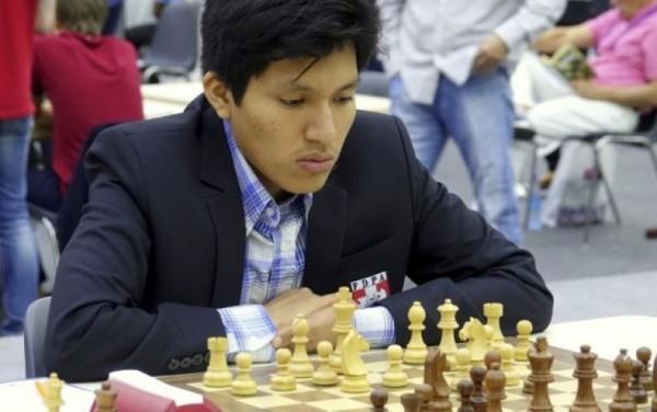 Jorge Cori, della Webster University, il giocatore con l'Elo più alto del Torneo
