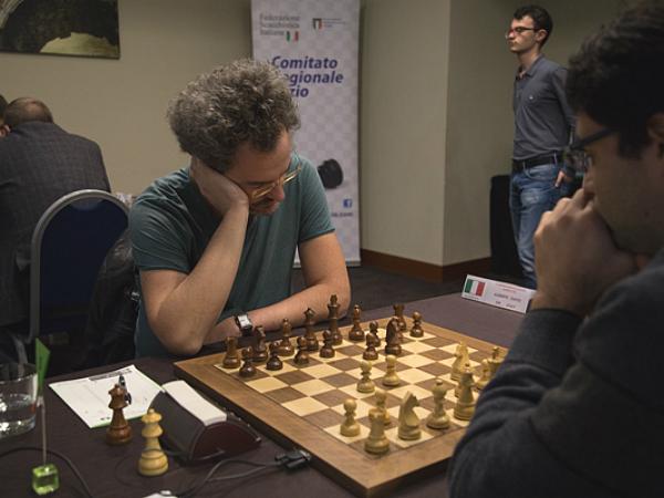 il Campione Italiano Alberto David, sinora -28 punti Elo FIDE in India