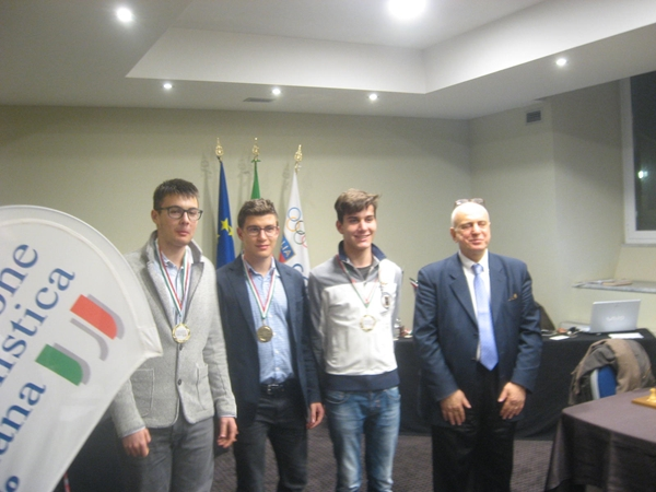 i giovani Lodici Valsecchi e Basso al 9°-10-11° posto