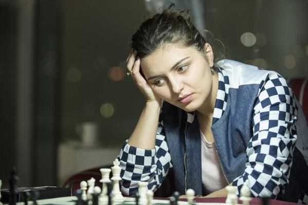 Bela Khotenashvili, avversaria della Zimina nei 32esimi