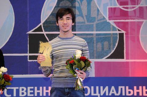 Eliseev premiato nell'Open di Mosca 2016