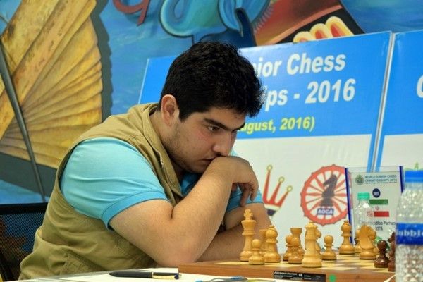 Maghsoodloo Parham, classe 2000, giovane speranza iraniana
