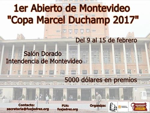 I Abierto de Montevideo Marcel Duchamp