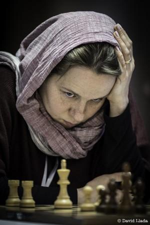 Olga Zimina nel Mondiale KO in Iran, foto David Llada