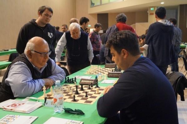 Antonio Martorelli durante i Campionati italiani Rapid