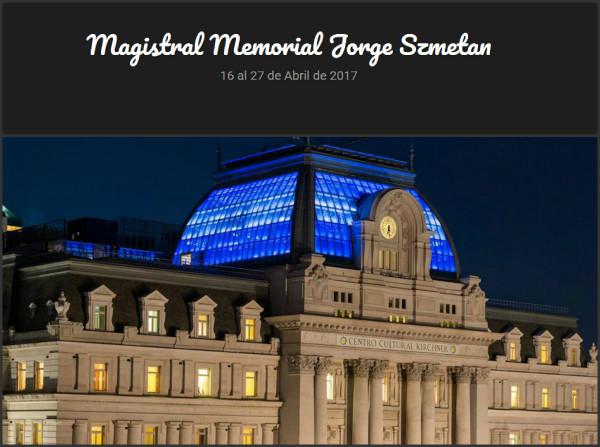 Memorial Jorge Szmetan_2017_Home
