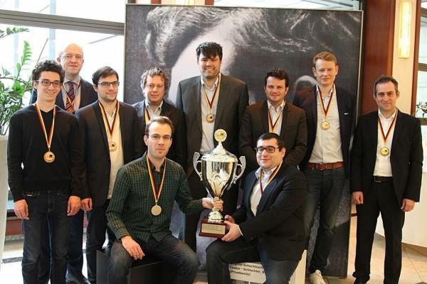 la squadra schierata dai neo Campioni del Baden Baden nell'ultimo week-end