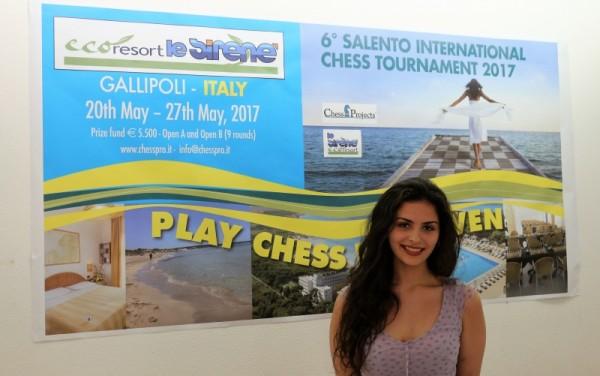 Ottimo torneo per Desiree Di Benedetto: +84,4 punti Elo FIDE e prima delle donne davanti alla WGM Klaudia Kulon e alla MI Karina Szczepkowska!