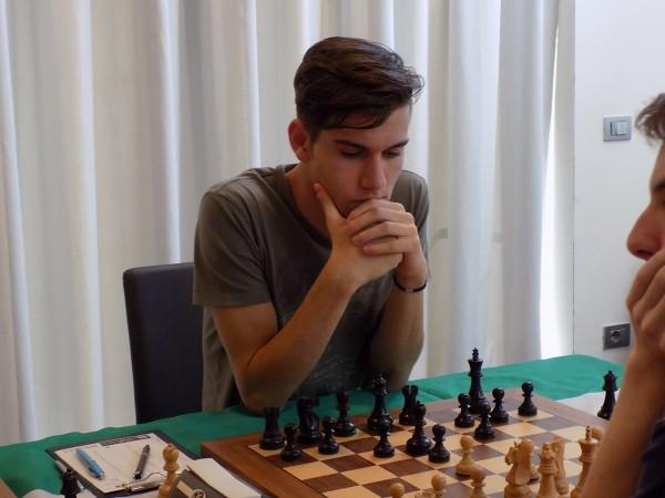 Luca Moroni, Semifinale CIA