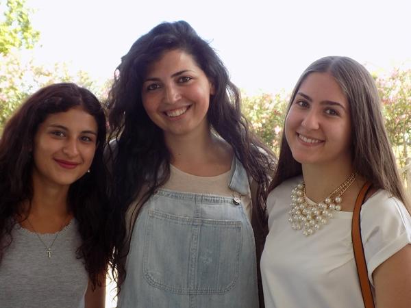 Tea Gueci, De Rosa e Alessia Santeramo, Semifinale Campionato italiano Femminile