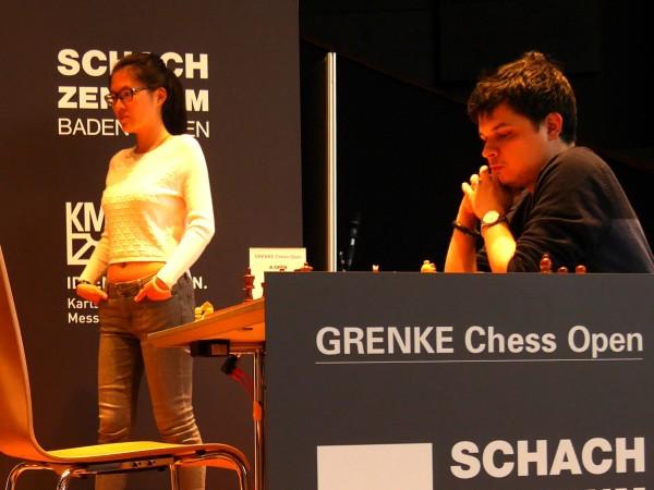 Viktor Erdos, il giocatore con l'Elo più alto della manifestazione