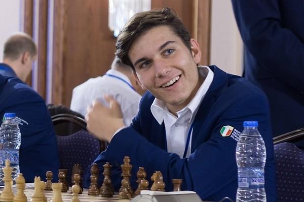 il giovane GM Luca Moroni, anche lui tra i favoriti della competizione