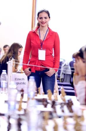 Desiree Di Benedetto in versione spettatrice