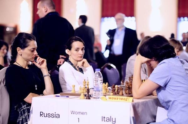 sconfitta dignitosa delle azzurre con la Russia: 1-3