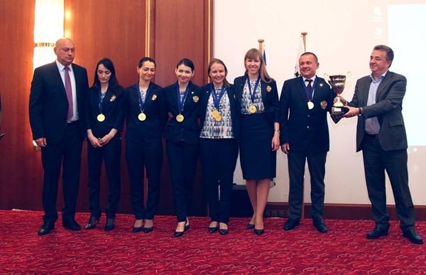 la Russia si consola con il quinto oro nelle ultime sei edizioni del Femminile