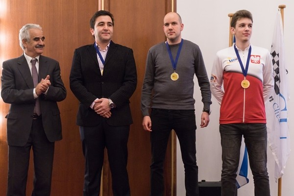 seconda scacchiera: Bosiocic, Radjabov e Duda