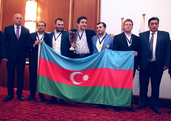Oro per l'Azerbaijan