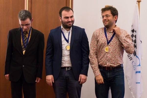 Navara, Mamedyarov e Aronian sul podio della prima scacchiera