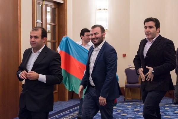 grande euforia tra gli azeri