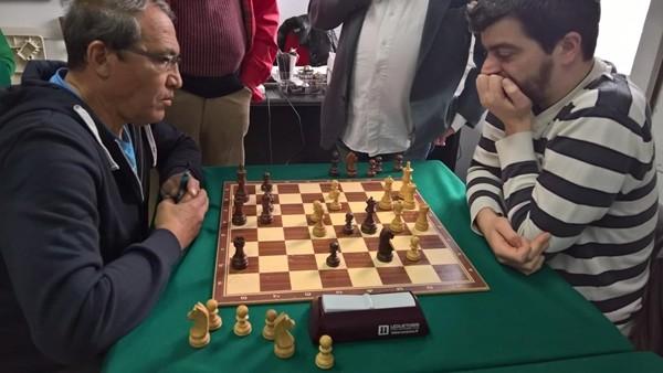 Manfredi-Abd El Gawad Shaabanal durante il Grand Prix semilampo 2017 del circolo Centurini